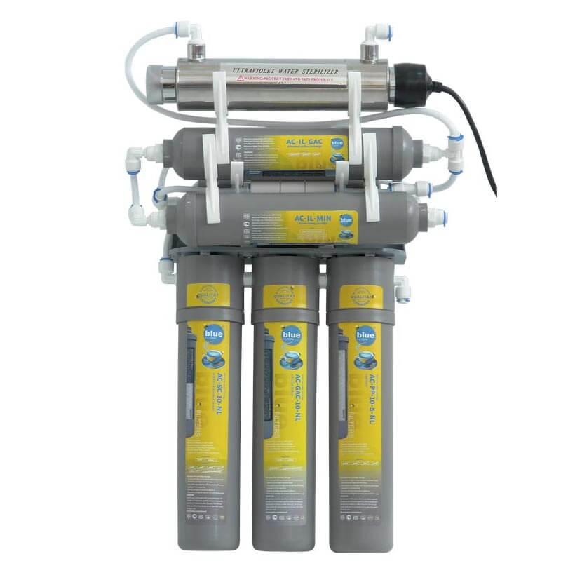 Filtru de apa cu osmoza inversa RO6 cu Lampa UV