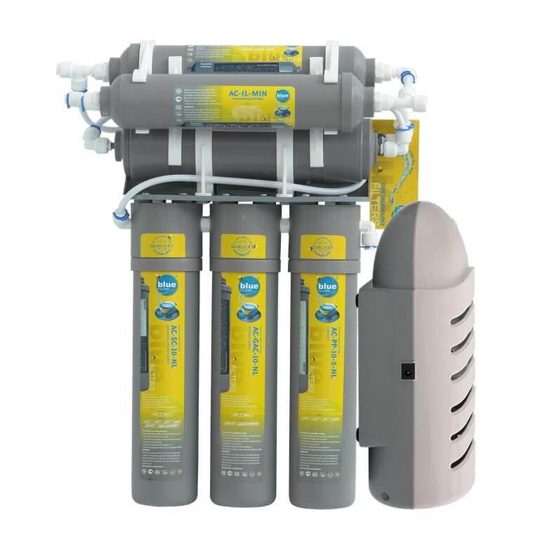 Filtru de Apa Osmoza Inversa RO6 New Line cu pompa de presiune