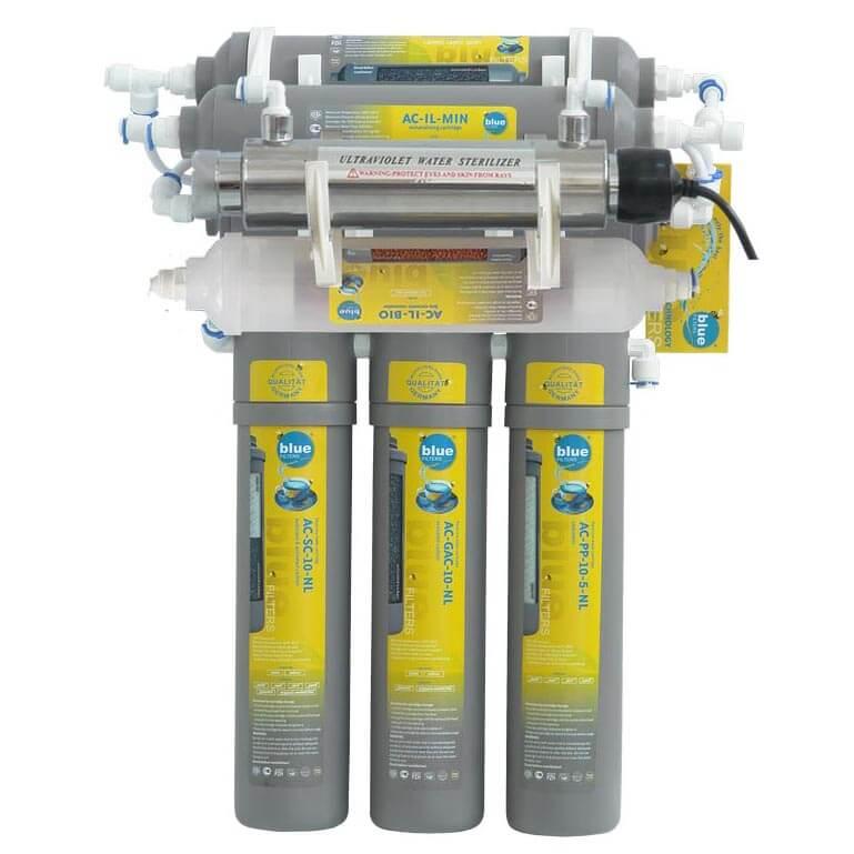 Filtru de apa osmoza inversa RO7 New Line cu lampa UV