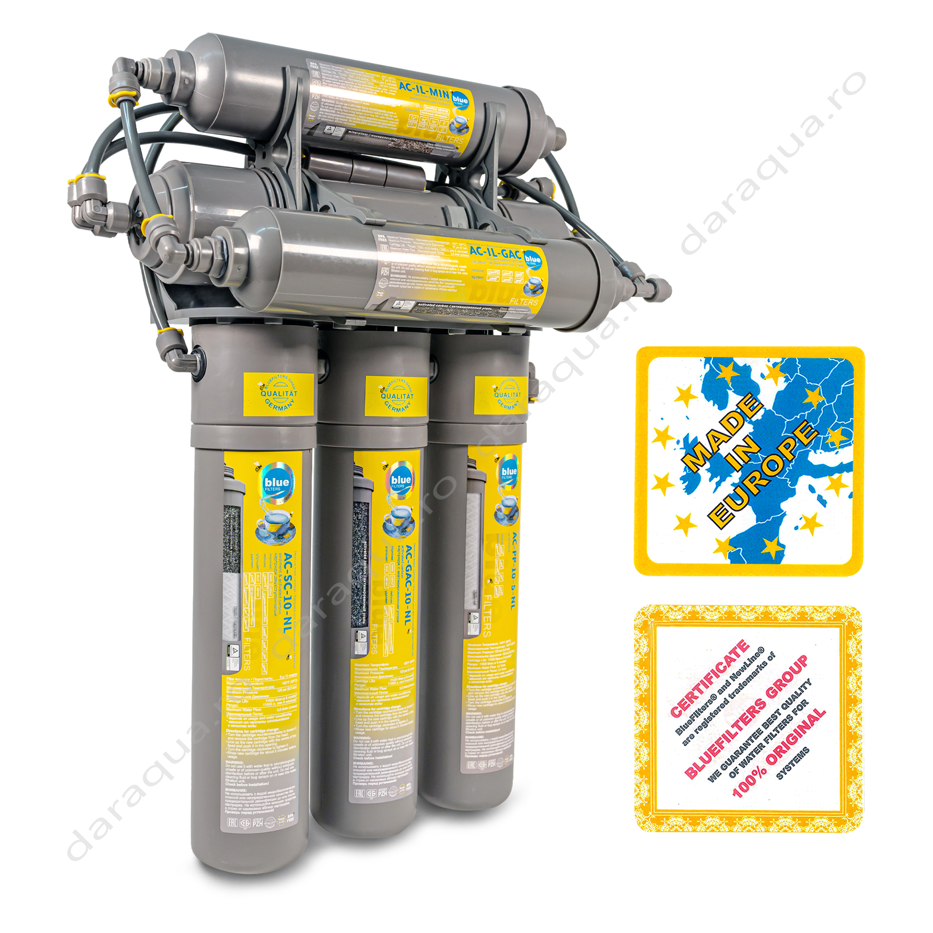 Osmoza Inversa cu cartus mineralizator New Line BPA Free