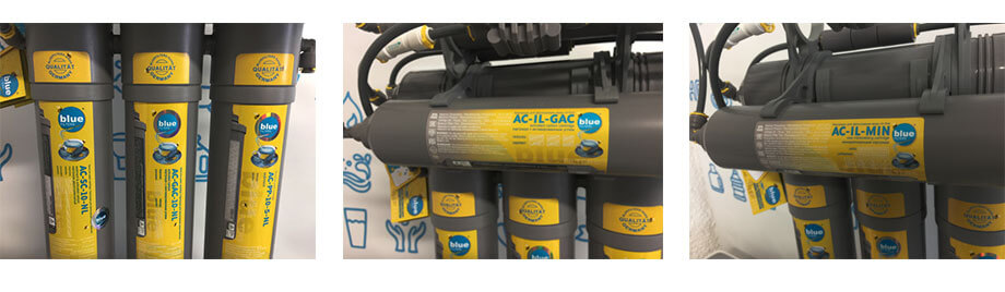 Filtre de apa cu osmoza inversa RO6 Tehnologia New Line BLue Filters