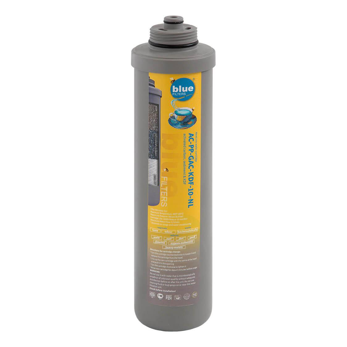 Filtru apa Cartus sediment carbune granular KDF AC PP GAC KDF 10 NL