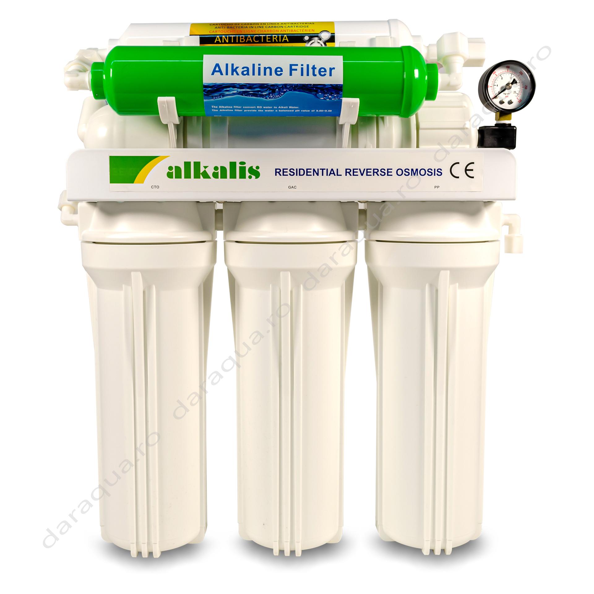 Osmoza Inversa Alkalis cu cartus pentru cresterea pH-ului - apa alcalina
