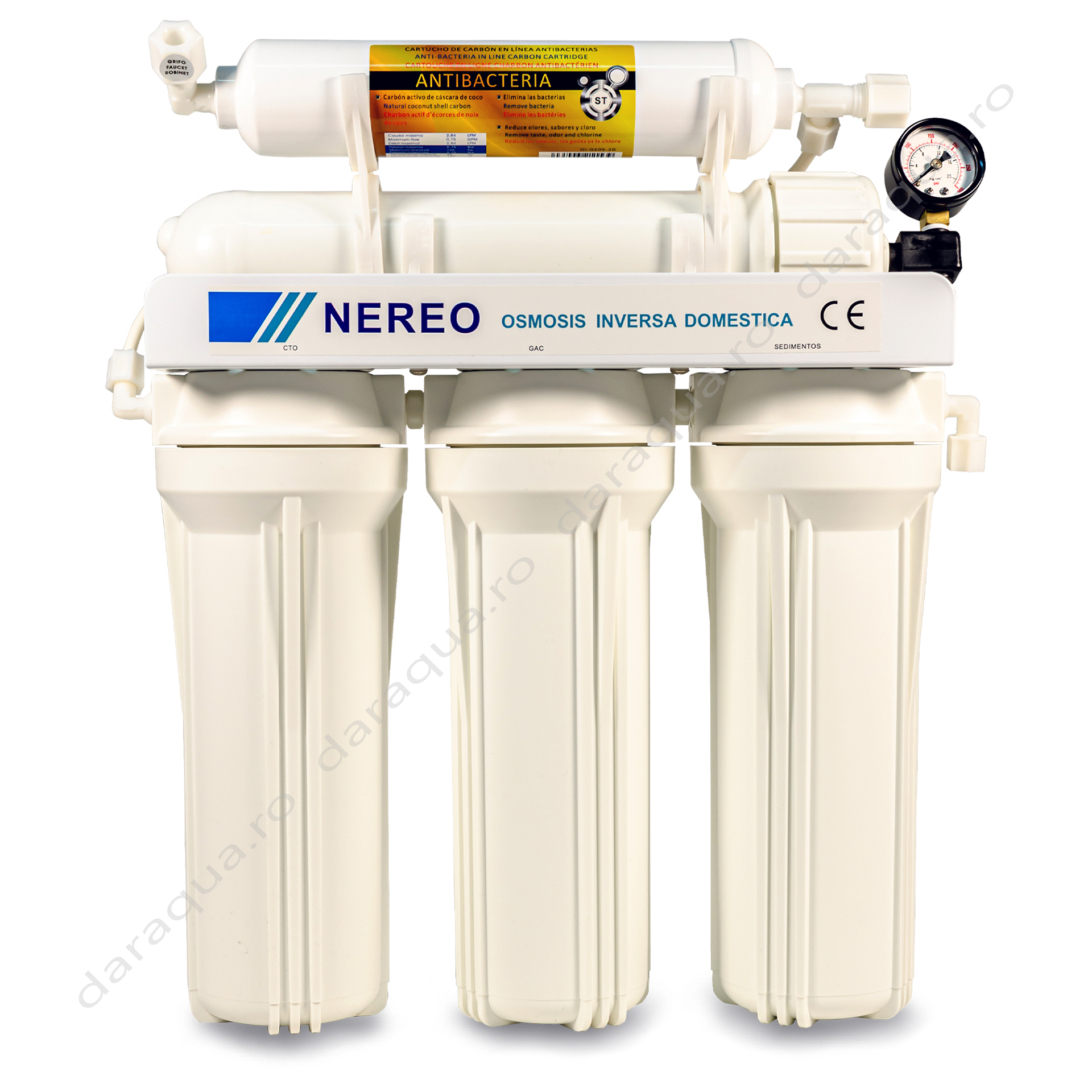 Osmoza Inversa Nereo cu cartus antibacterian