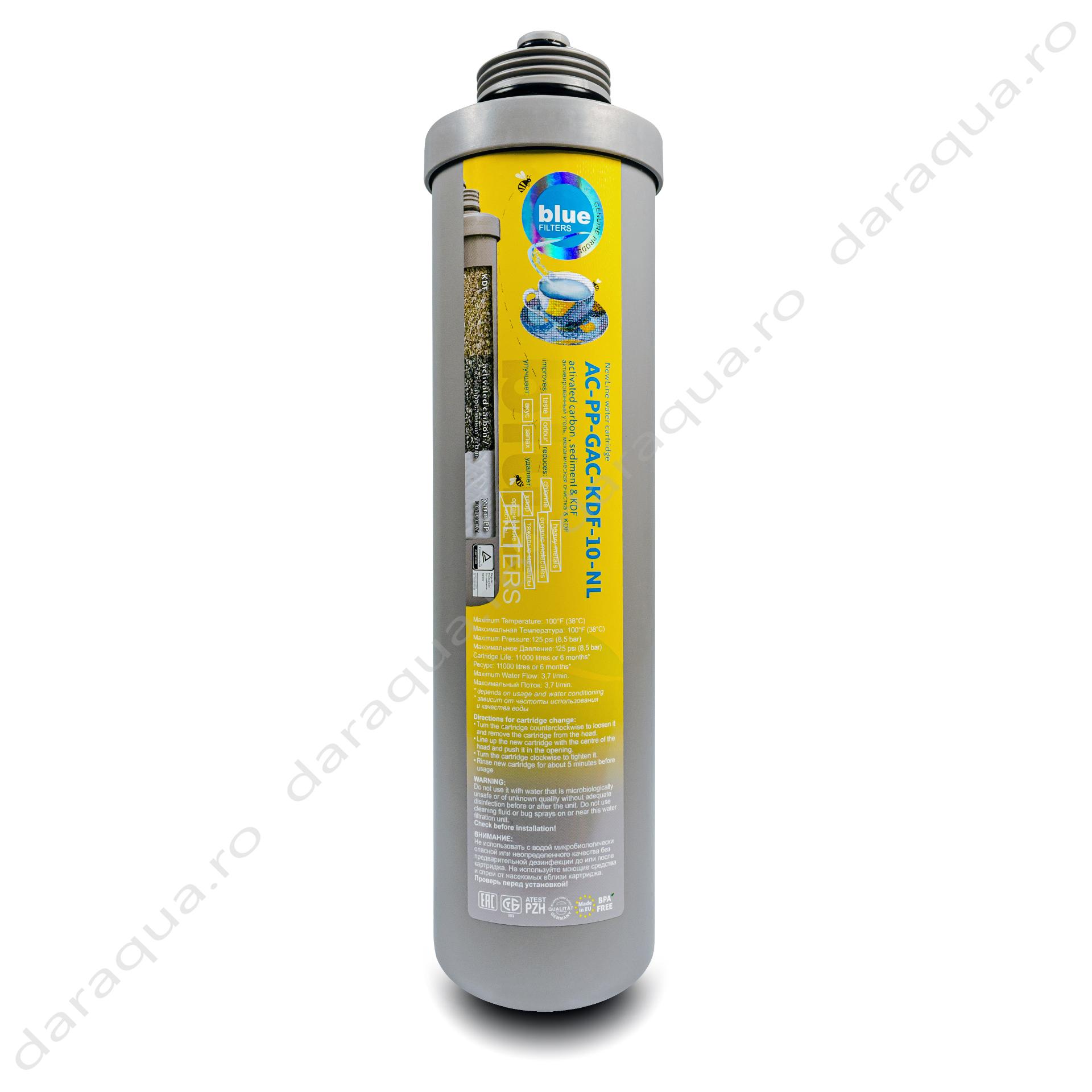 Filtru AC-PP-GAC-KDF-10-NL