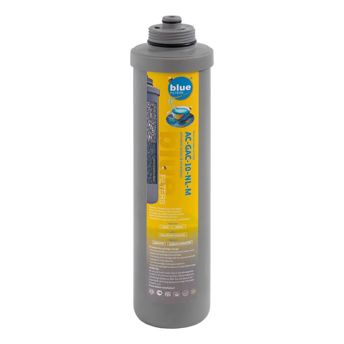 Filtru apa Cartus carbon activ cu mineralizator New Line AC GAC 10 NL M