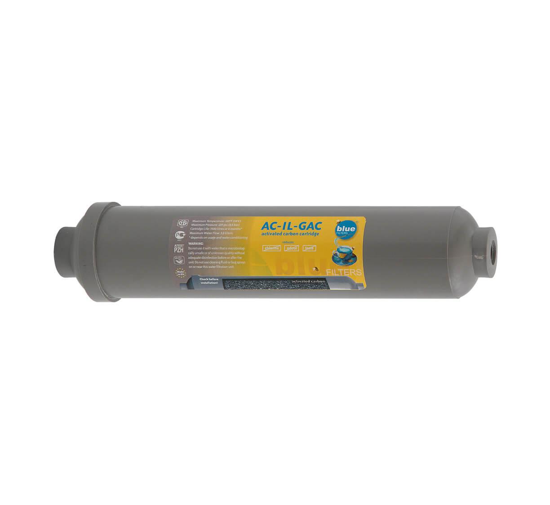 Filtru apa Cartus Carbon Activ granularIn Line Grey AC-IL-GAC