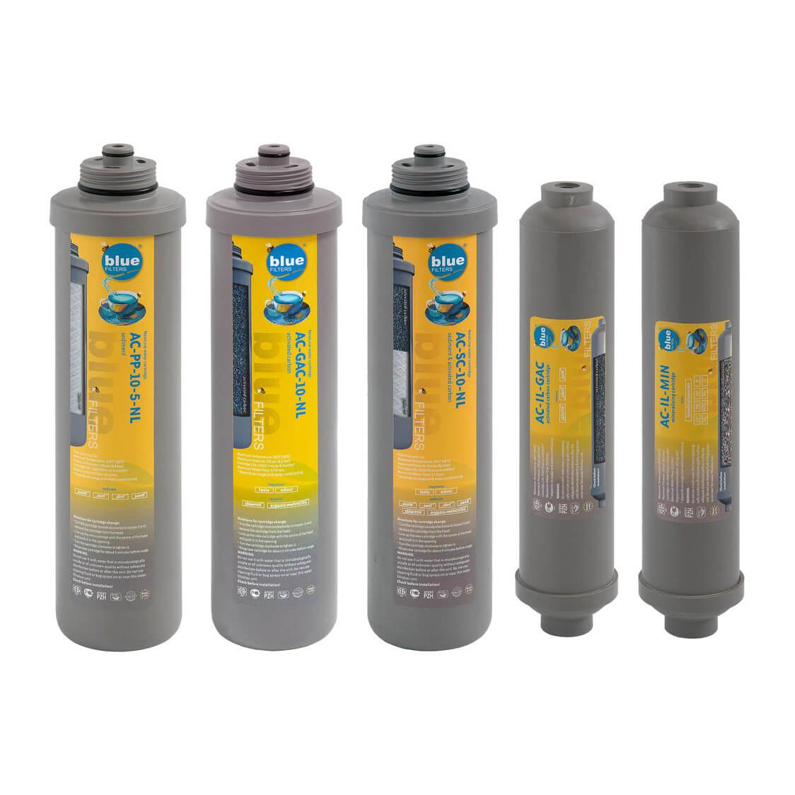 Set consumabile - Cartus pentru filtre cu osmoza inversa RO6 New Line