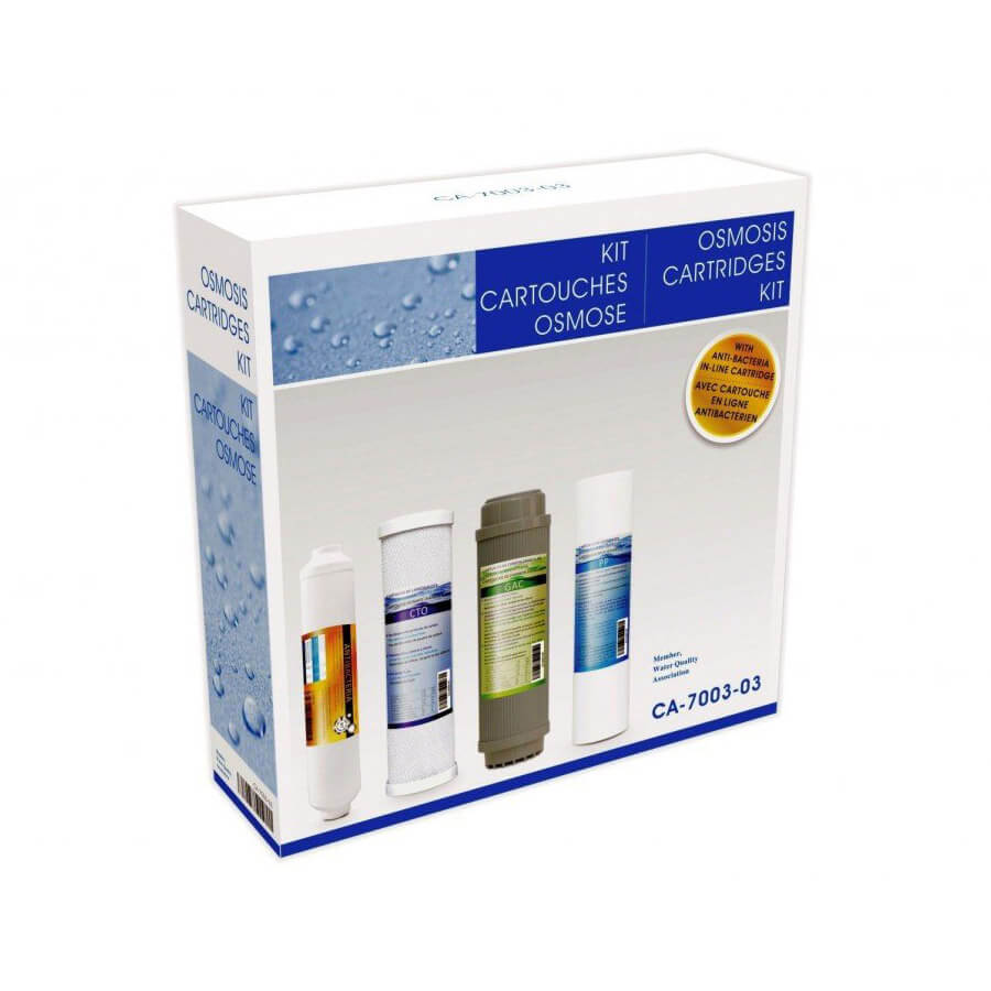 Set consumabile filtre apa Alkalis Nereo