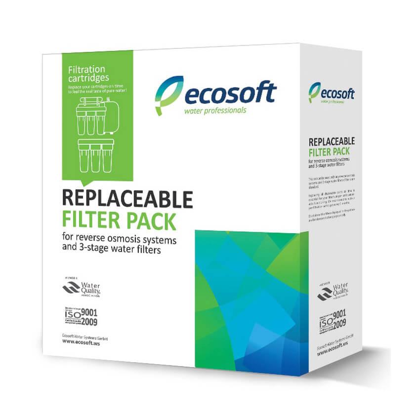 Set de consumabile filtru apa UPS3 Osmoza Inversa Ecosoft