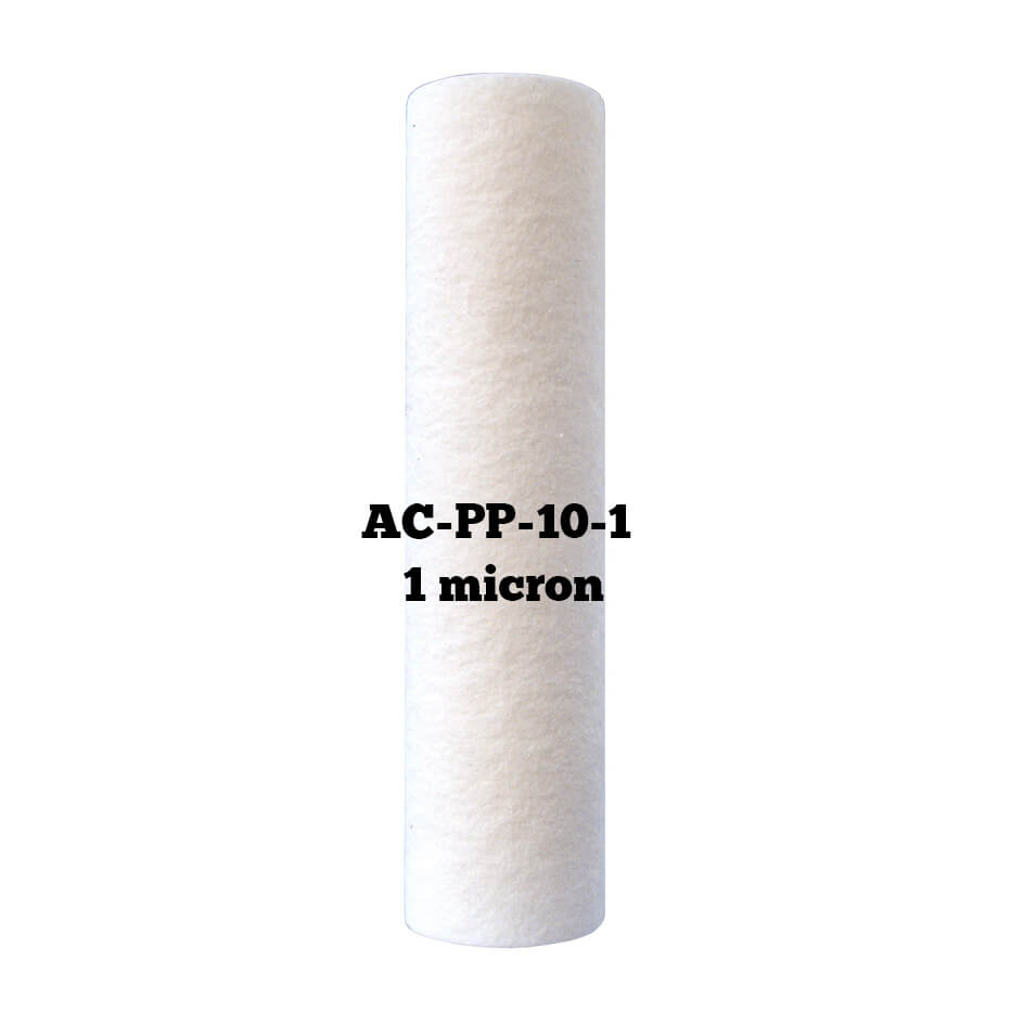 Filtru apa cartus polipropilena de 1 micron