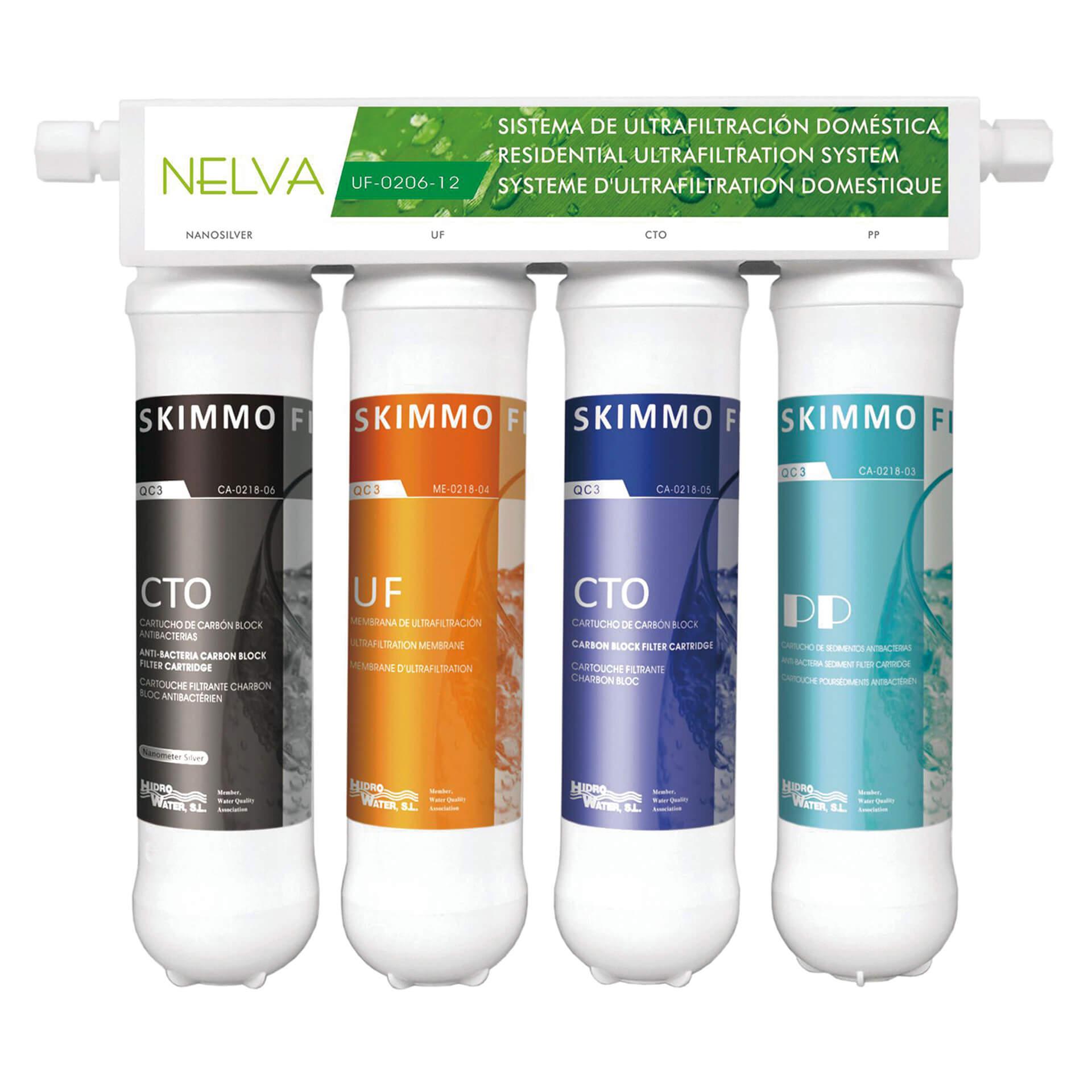 Sistem de filtrare a apei Nelva