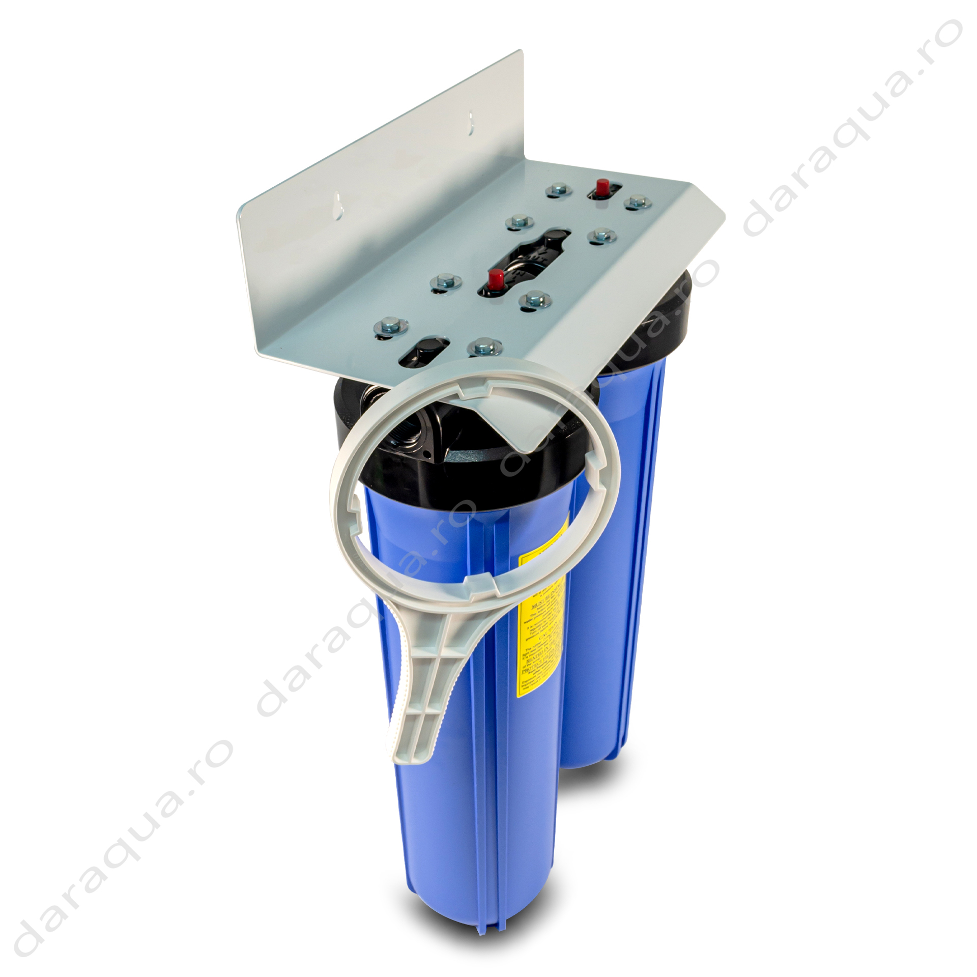 "Filtru Duplex Big Blue 20"" cu Carbune Activ si filtrare mecanica"