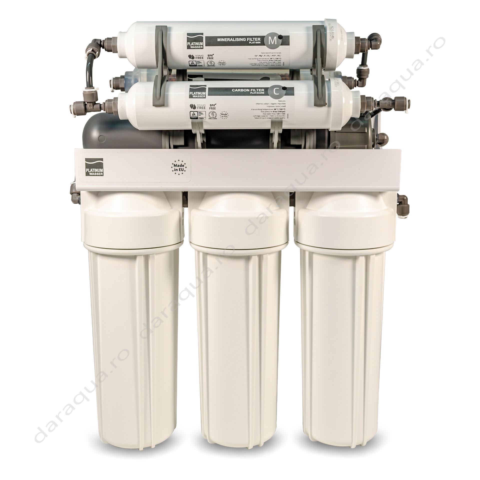 Osmoza Inversa cu robinet dublu cu cartus bioceramic