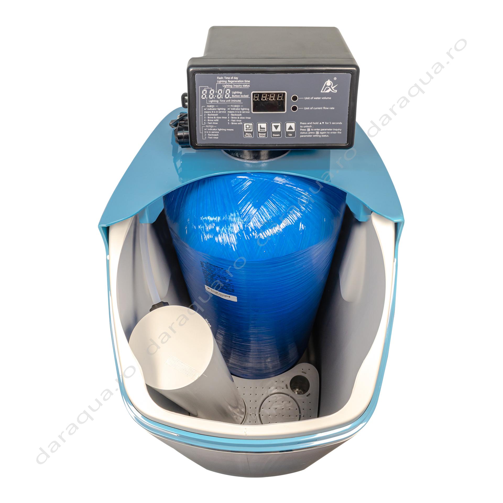 Dedurizator 30 litri - protejeaza echipamentele si instalatia impotriva depunerilor de calcar.